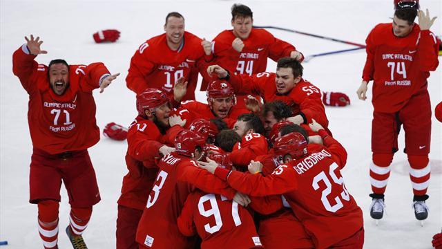 Tyskland var på vei mot gullrekord, så våknet den russiske bjørnen