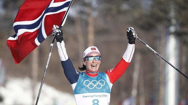 "Norway's Marit Bjoergen bows out with ""amazing"" final eighth gold"