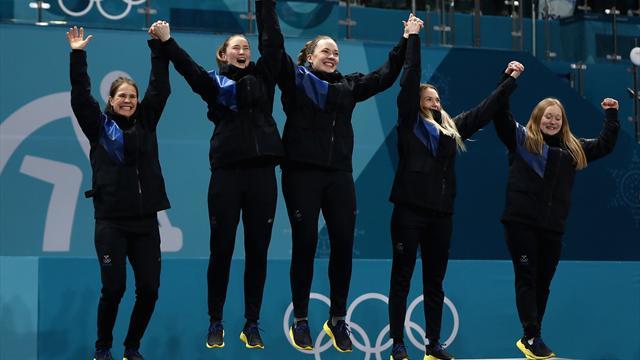 Highlights: De svenske curling-kvinder fejede OL-guldet hjem
