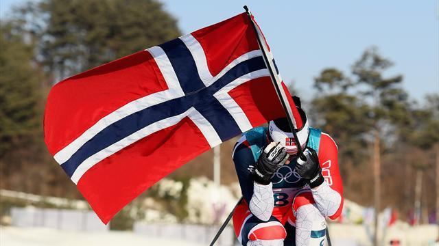 Marit Björgen är tidernas bästa vinterolympier