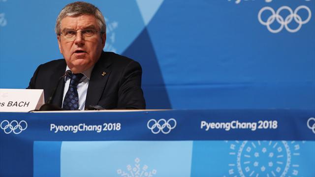 """Bach estime que """"les Jeux n'ont pas été ternis par l'affaire du dopage russe"""""""