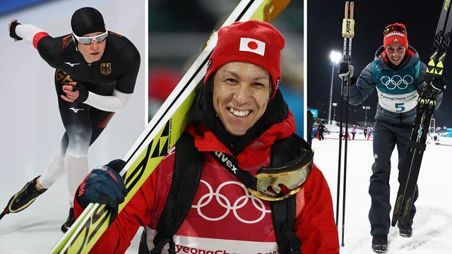 Olympia macht süchtig: Pechstein, Kasai, Frenzel peilen Peking 2022 an