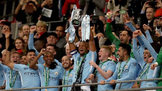 Il Manchester City divora 3-0 l'Arsenal e alza la Coppa di Lega: 1° trofeo inglese per Guardiola