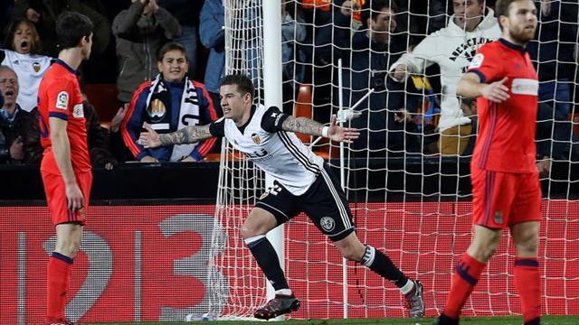 Valencia, con Jeison Murillo 90 minutos, venció 2-1 a Real Sociedad