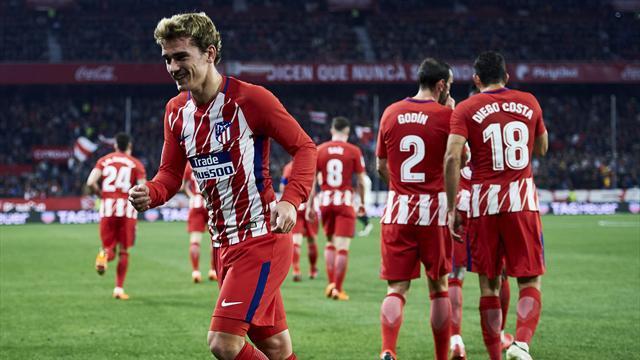 L'Atletico Madrid enfonce Séville