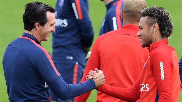 "Emery : ""Neymar va rester au PSG"""
