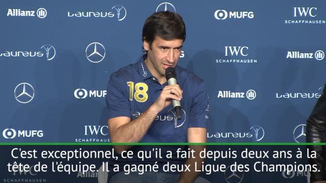 Raul : »On a tous envie de voir Zidane continuer»