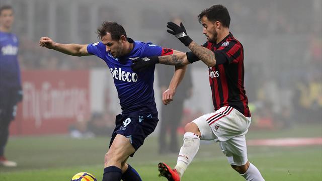 Не пропусти матч «Лацио» – «Милан» в приложении Eurosport