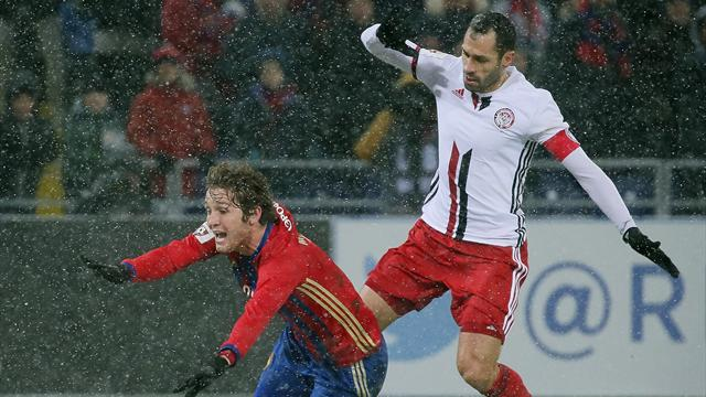 Занев во время матча с «Авангардом»: «Как можно играть в футбол в -30, ***** [блин]?»