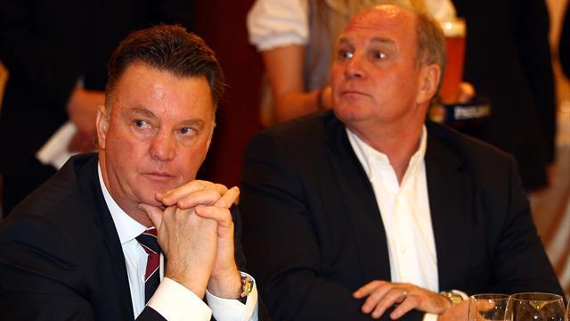Van Gaal ne reviendra pas à Munich «tant que Hoeness sera dirigeant»
