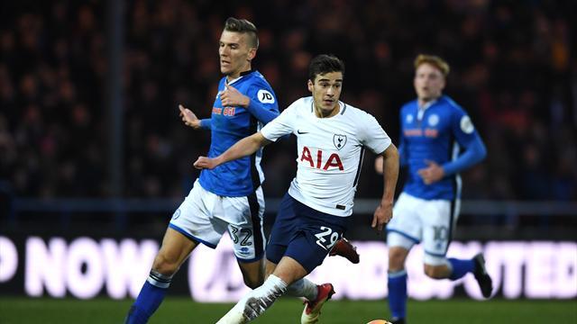 Winks signs new Tottenham deal until 2023