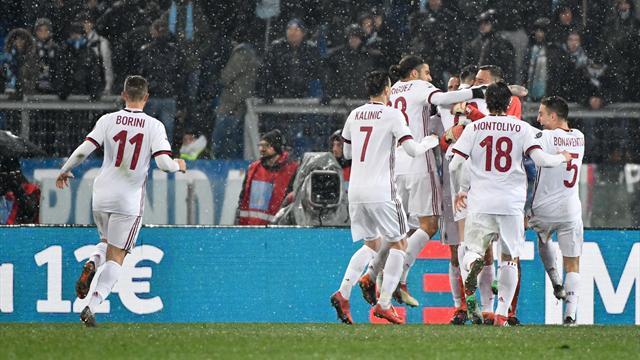 L'AC Milan aura droit à sa revanche