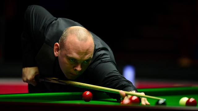 Bingham defeats King as Murphy and Ding withdraw