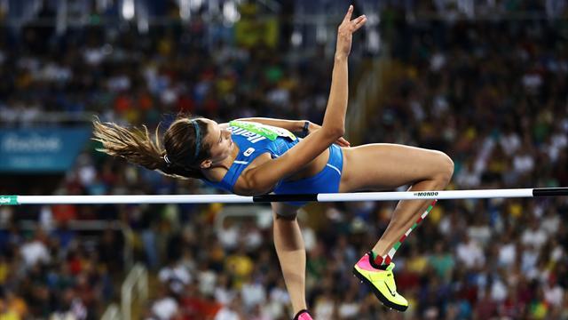 Alessia Trost conquista la medaglia di bronzo nel salto in alto: oro alla Lasitskene