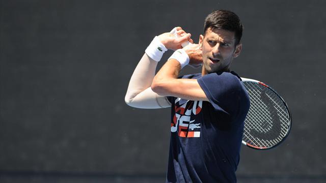 Djokovic aura du boulot, Federer a un boulevard