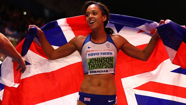 Johnson-Thompson wins pentathlon gold at World Indoor Championships