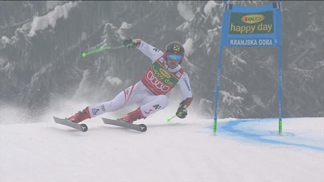 L'intouchable Marcel Hirscher s'adjuge le slalom, Clément Noël quatrième