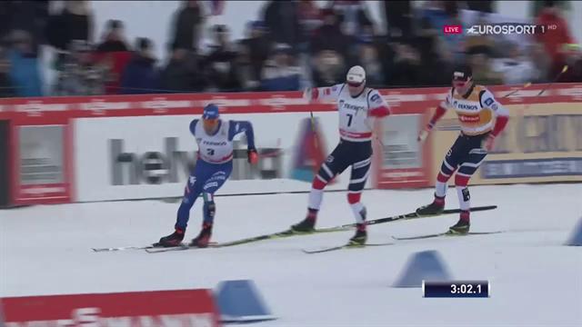 Pazzesco Federico Pellegrino! Dopo l'argento olimpico vince anche la sprint di Lahti
