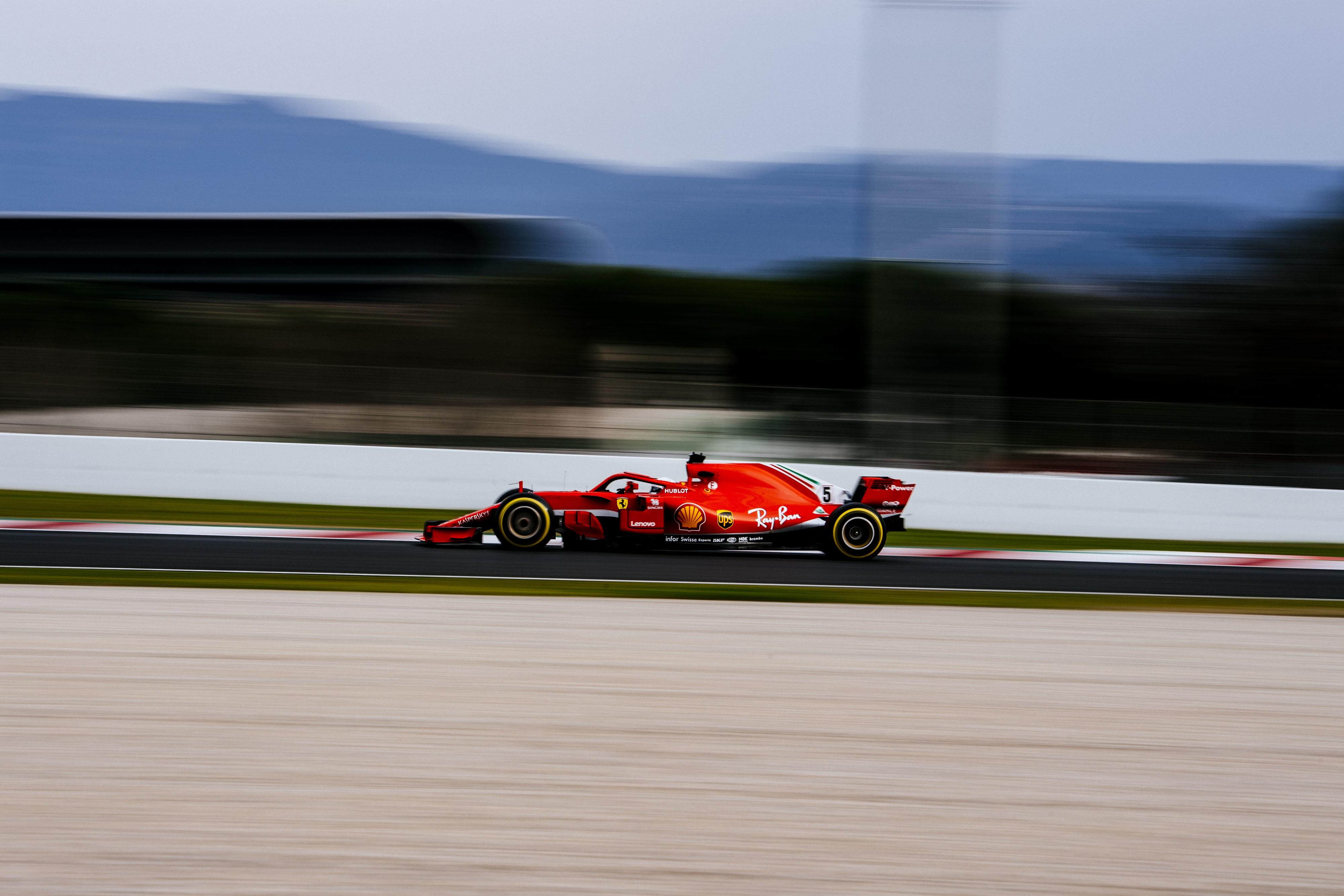 Sebastian Vettel (Ferrari) - Tests Montmelo 2018
