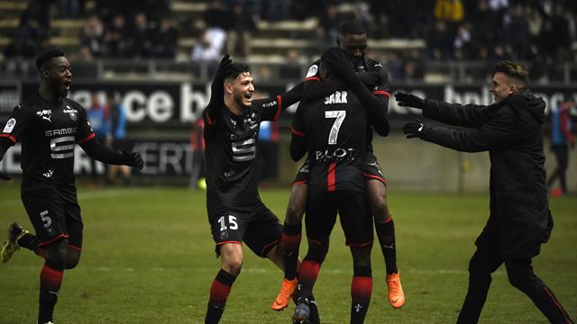 Rennes s'invite dans le Top 5, Angers enchaine, Metz n'y arrive plus