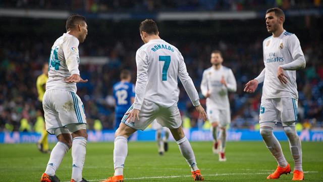 Le Real Madrid s'offre une bonne répétition avant Paris