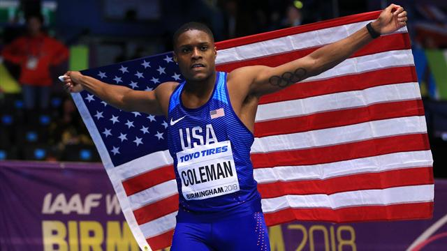 Coleman intouchable sur 60m