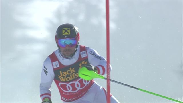 Marcel Hirscher s'impose à Kranjska Gora, Clément Noël 4e — Slalom