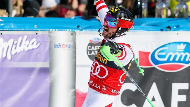 Hirscher - Fourcade - Biles, notre podium 2018
