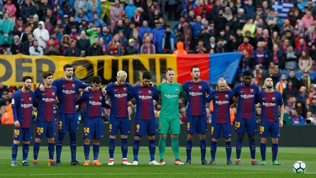 Il Barcellona ricorda Davide Astori: il minuto di silenzio è anche per lui