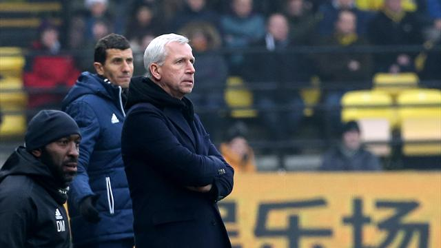 Pardew's expression telling; Brunt consoles West Brom teammate