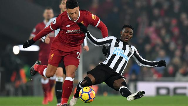 Predicted Newcastle team v Liverpool - Two Changes