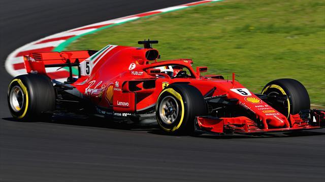 McLaren reine des drapeaux rouges, Vettel signe le meilleur temps