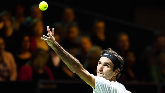 Federer y Djokovic se podrían enfrentar en la final del Indian Wells