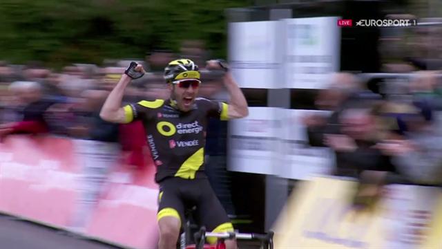 Le Français Jonathan Hivert remporte la 3e étape — Paris-Nice