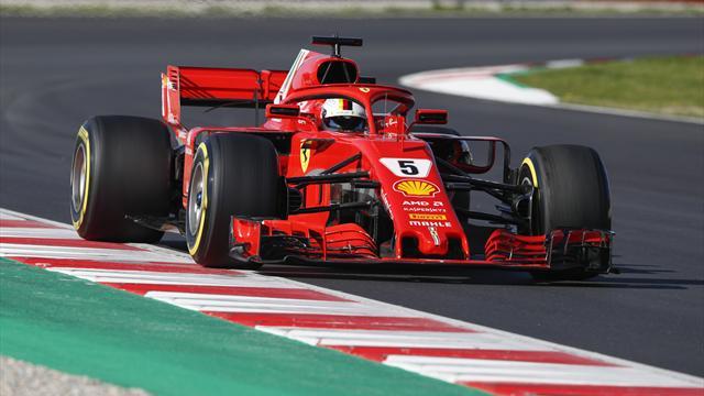 Formel-1-Tests: Vettel am Dienstag der Schnellste