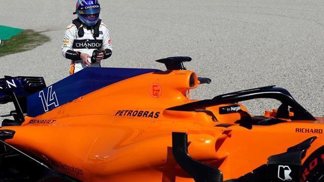 Raikkonen brilla en última jornada en Montmeló, Alonso y McLaren reaccionaron