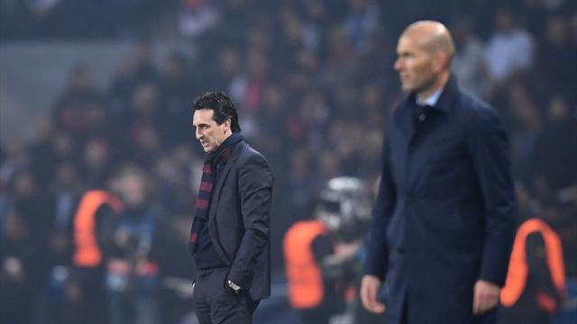 Avec Zidane, Emery a trouvé un professeur et un bourreau