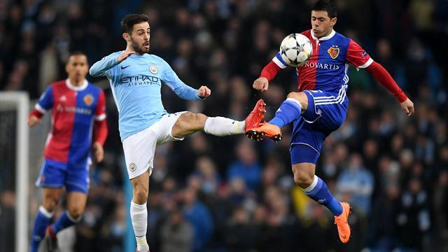 Pleite gegen Basel ohne Wert: City mit halber Kraft ins Viertelfinale