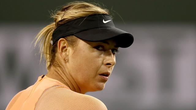 Sharapova withdraws from Miami with forearm injury