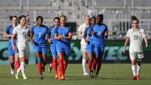 DFB-Frauen kassieren heftige Niederlage gegen Frankreich