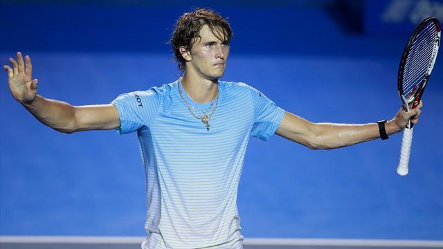 Зверев: «Федерер не проходил дальше четвертьфиналов мэйджоров до 22 лет. А мне только 20»