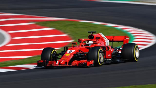 Vettel promuove la Ferrari 2018