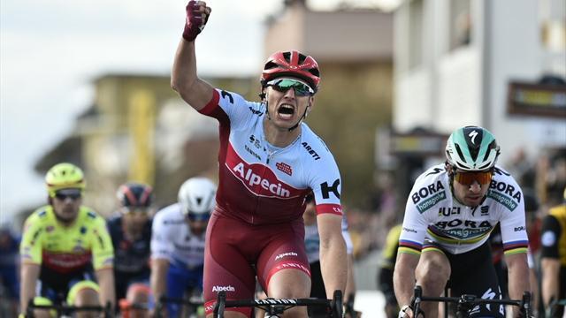 Kittel domine (encore) un Sagan héroïque, Kwiatkowski reste leader