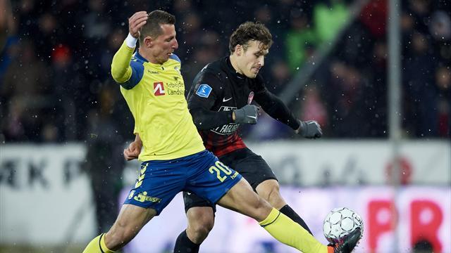 Highlights: Brøndby vandt topopgør i heksekedel på heden!