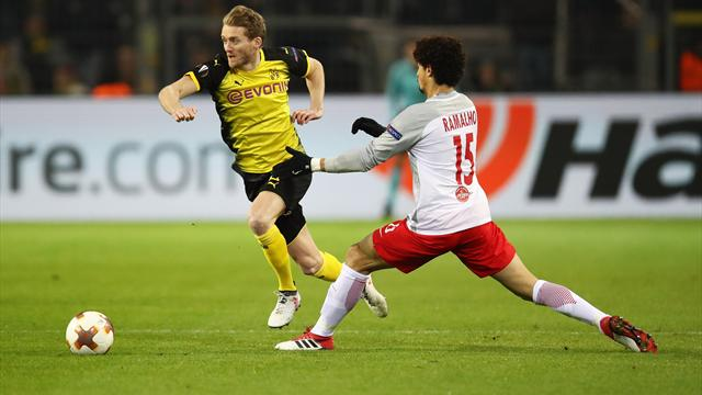 Dortmund in Salzburg zum Siegen verdammt