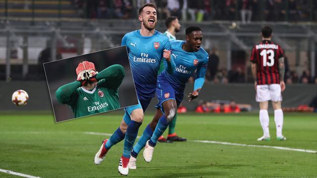 Höjdpunkter Milan-Arsenal: Tungt fall för Milan på hemmaplan