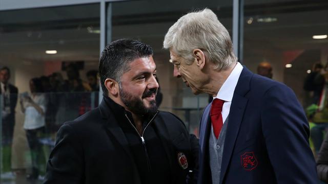 Венгер просил совета у Гаттузо и обманул. «Арсенал» размазал «Милан»