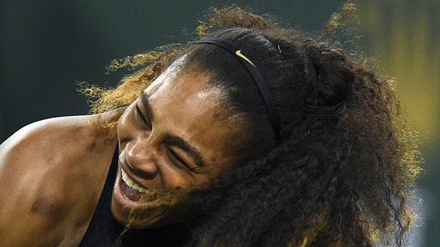 Серена выиграла первый матч после возвращения