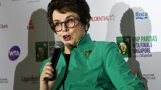 """Coaching from stands is """"no-brainer"""", says Billie Jean King"""