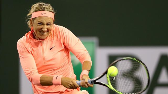 Азаренко выиграла первый матч в 2018 году